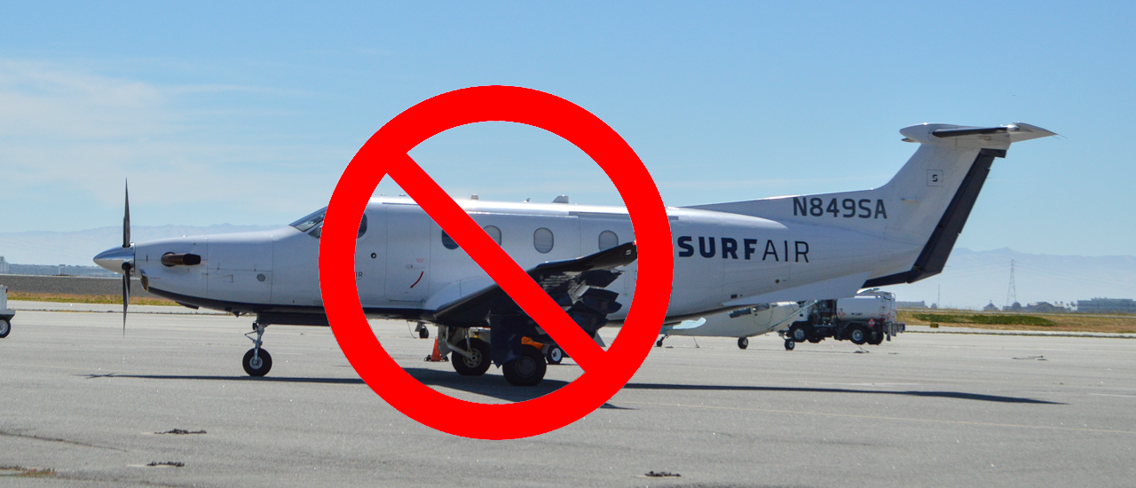 Surf Air Protest