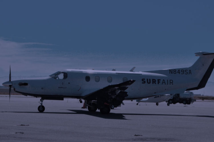 Surf Air airplane