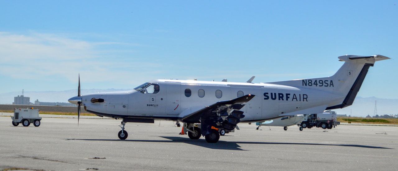 Surf Air flights down by 85 percent, but noisy legal fight continues